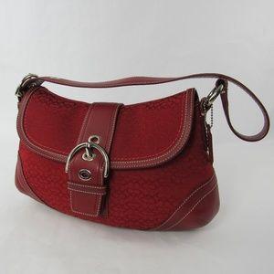 Coach F10926 Jacquard Purse Shoulder Bag